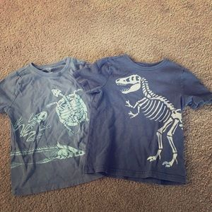 Other - 4T-5T skeleton shirts